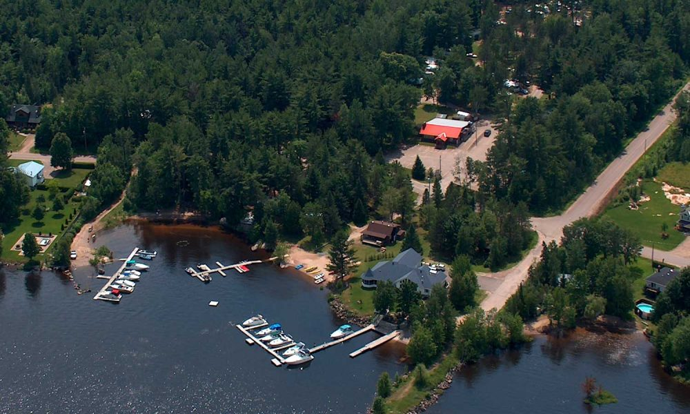 CAMPGROUND AERIAL VIEW