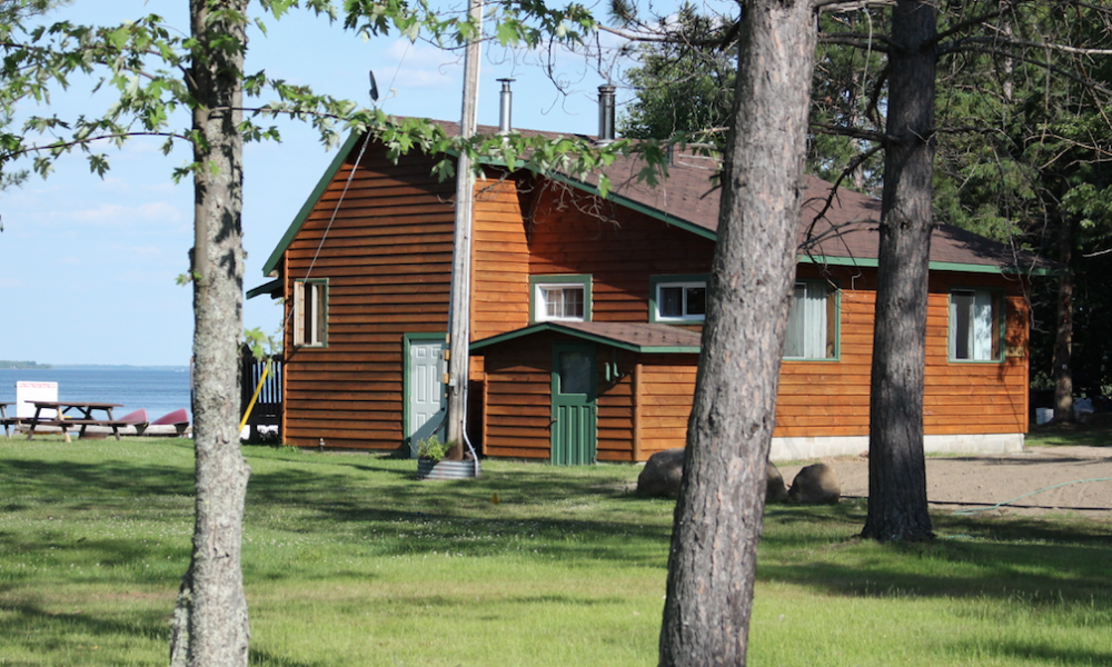 STAY IN ONE OF OUR RUSTIC CABINS